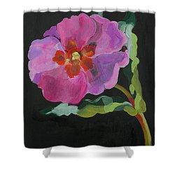 Cistus New Zealand Shower Curtain by Deborah Barton