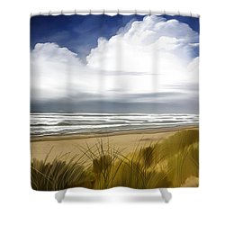 Coastal Breeze Shower Curtain