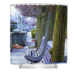 Colours In The Park Shower Curtain