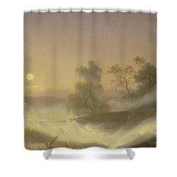 Dancing Fairies Shower Curtain by August Malmstrom