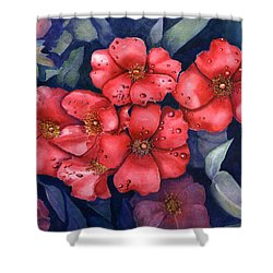 Dew Flowers Shower Curtain