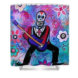 Dia De Los Muertos Musician Painting By Pristine Cartera Turkus