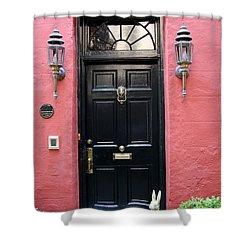Door Oldtown Charleston Shower Curtain
