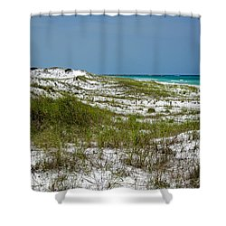 Shower Curtain featuring the photograph  Dunes    Panama City Beach  by Susan  McMenamin