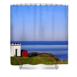 Elie Lighthouse Shower Curtain by Craig B