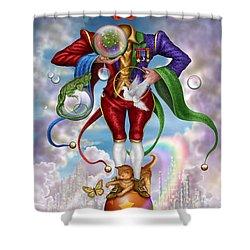 Fool Of Dreams Shower Curtain by Ciro Marchetti