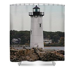 Fort Constitution Light Shower Curtain