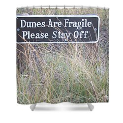 Shower Curtain featuring the photograph Sand Dune  by Eunice Miller