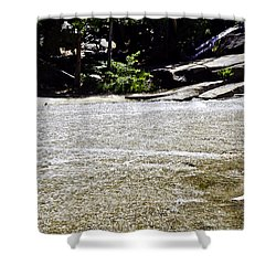 Shower Curtain featuring the photograph  Granite River by Brian Williamson