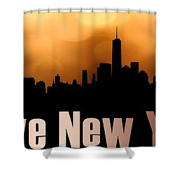 I Love New York Shower Curtain by Tommytechno Sweden