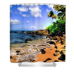 Laniakea Beach Shower Curtain