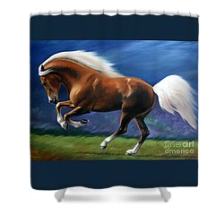 Magnificent Power And Motion Shower Curtain