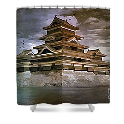 Matsumoto Castle  Shower Curtain