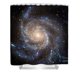 Messier 101 Shower Curtain