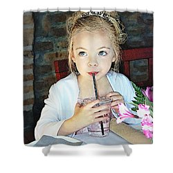 Mommy And Daddy's Little Princess Shower Curtain