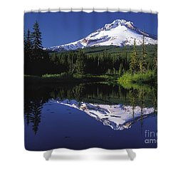 Shower Curtain featuring the photograph  Mount Hood Oregon  by Paul Fearn