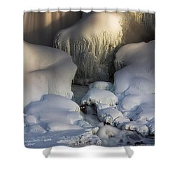 Niagara Falls Frozen Shower Curtain