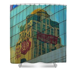 Office For Sale Shower Curtain by Michelle Meenawong