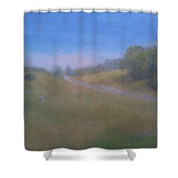 Our Lane In June Shower Curtain