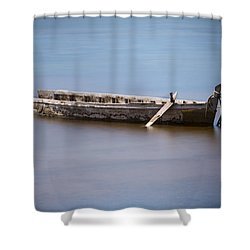 Past Its Best. Shower Curtain