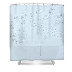Quantum Tree Shower Curtain