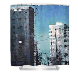 Rotterdam Shower Curtain by Maja Sokolowska
