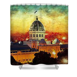 Royal Exhibition Building Shower Curtain