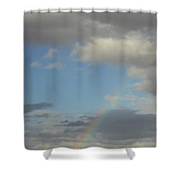 Skys The Limit Shower Curtain by Carla Carson