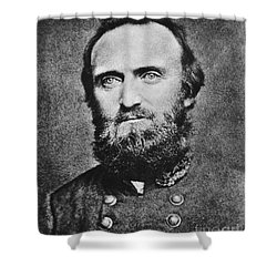 Stonewall Jackson Shower Curtain by Anonymous