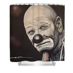 The Clown Shower Curtain