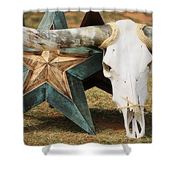 The Heart Of Texas Shower Curtain