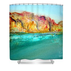 The Kimberly Australia Nt Shower Curtain