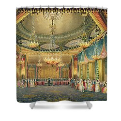 The Music Room Shower Curtain by English School