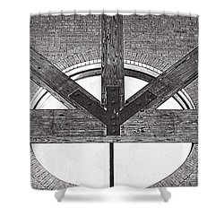 Trinity Series 1 Shower Curtain by Luther Fine Art