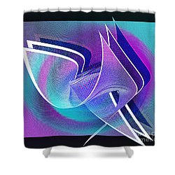 Twisted Linen Shower Curtain