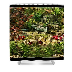 Uncle Toms Cabin  Shower Curtain by Blake Richards