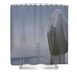 Veil Monument Shower Curtain by Randy Pollard