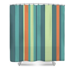Vertical Strips 17032013 Shower Curtain