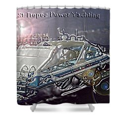 Yacht Art Shower Curtain