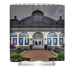 001 Buffal And Erie County Botanical Gardens Shower Curtain