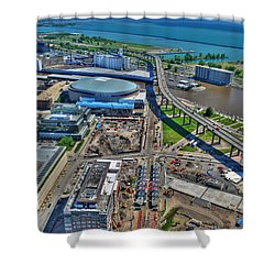 001 Visual Highs Of The Queen City Shower Curtain
