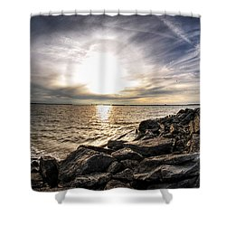 0011 Rest And Relax Series Shower Curtain by Michael Frank Jr