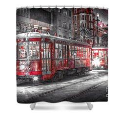 0271 New Orleans Street Car Shower Curtain