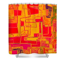 0275 Abstract Thought Shower Curtain by Chowdary V Arikatla