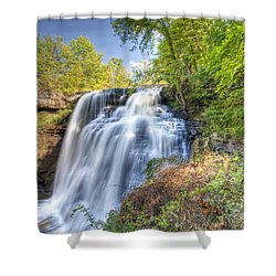0302 Cuyahoga Valley National Park Brandywine Falls Shower Curtain