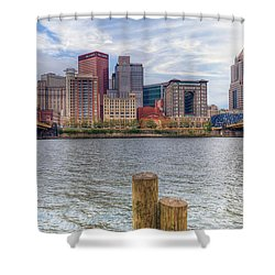 0311 Pittsburgh 1 Shower Curtain by Steve Sturgill