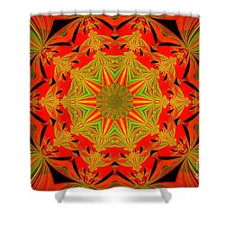 Brighten Your Day.unique And Energetic Art Shower Curtain