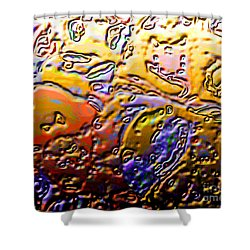 0365 Abstract Thought Shower Curtain