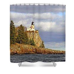 0376 Split Rock Lighthouse Shower Curtain
