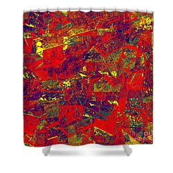 0384 Abstract Thought Shower Curtain